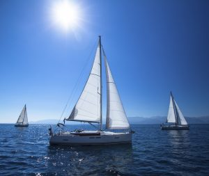 In barca